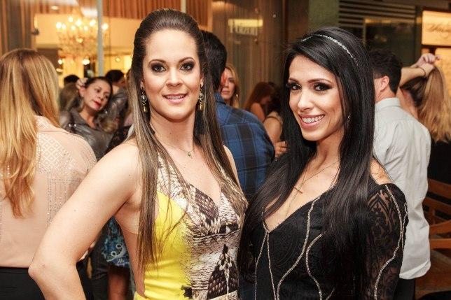 Juliana Freitas e Bella Falconi